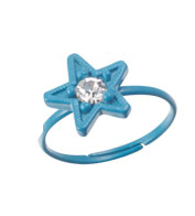 Fashion Toe Ring - Star Toe Ring (Assorted Colors)