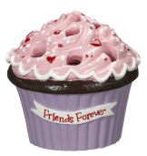Cupcake Bouquet Vases (Friends Forever) - Ganz Cupcake Flower Arrangement