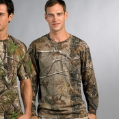 Code V Realtree Camouflage Long-Sleeve T-Shirt