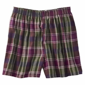 Robinson Unisex Plaid Flannel Shorts