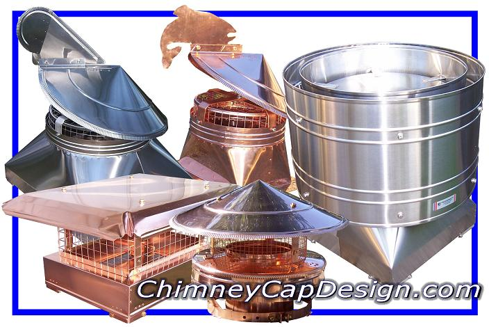 Copper Or Stainless Chimney Caps