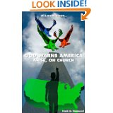 God Warns America Book by Frank Hammond