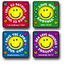 Love Verses Stickers (Pkg-120)