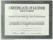 Certif-License (Generic) (Pkg-6)