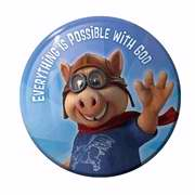 Everything Is Possible With God Buttons (30 Pack)