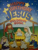 Happy Birthday Jesus coloring book