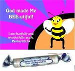 BEE-UTIFUL CARE & SHARE CARD & FREE TANGY TART