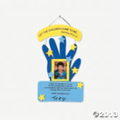 """Father's Day"" Handprint Keepsake Craft Kit"