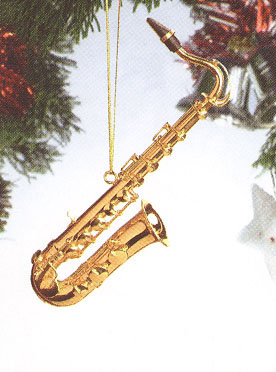 Music Instrument Ornament - Tenor Saxophone