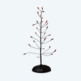 "Department 56 Halloween  - ""Halloween Orange Twinkle Brite Tree"""