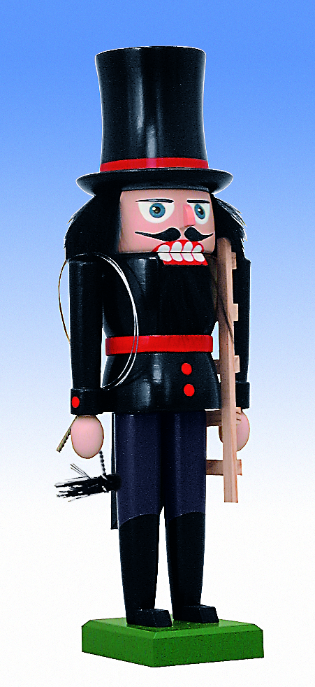 KWO Authentic German Nutcracker - Chimney Sweep Nutcracker