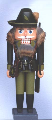 KWO Authentic German Nutcracker - Forest Warden Nutcracker