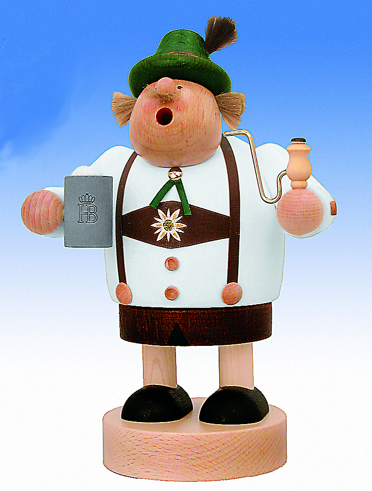 KWO Authentic German Smoker Man - Bavarian Landlord Smoker Man