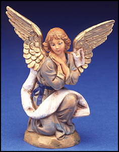 Fontanini Nativity - 5in Collection - Kneeling Angel