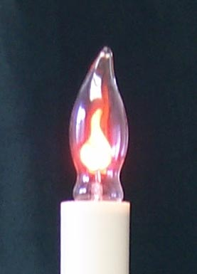 light bulb flicker flame candle light bulb