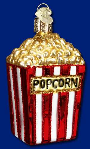 Old World Christmas Glass Ornament - Popcorn