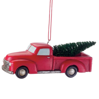Christmas Ornament - Pickup Truck Ornament