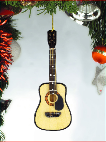 Music Instrument Ornament - Classic Guitar with Pick Guard