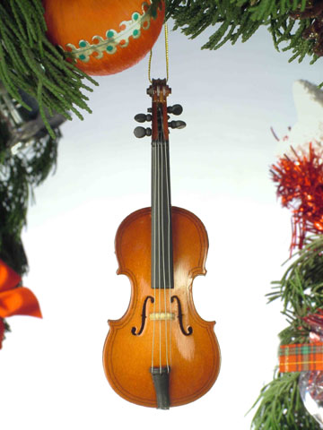 Music Instrument Ornament - Cello Ornament