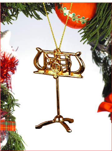 Music Instrument Ornament - Music Stand Ornament