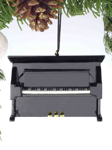 Music Instrument Ornament - Upright Piano Ornament