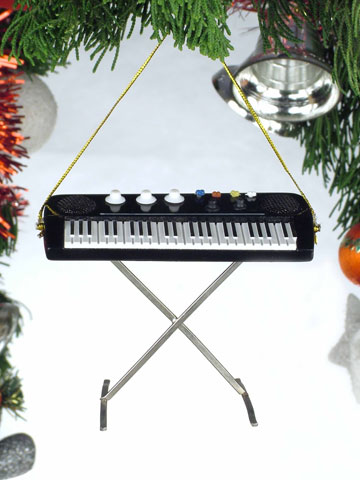 Music Instrument Ornament - Keyboard Ornament