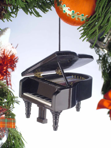 Music Instrument Ornament - Grand Piano Ornament