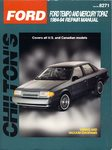 Ford Tempo, Mercury Topaz - Chilton Repair Manual