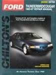 Ford Thunderbird, Mercury Cougar - Chilton Repair Manual