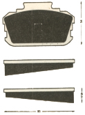 Nissan (Datsun) 720 Pick-Up - Front Brake Pads
