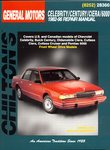 Buick Century, Chevrolet Celebrity, Oldsmobile Ciera, Cutlass, Pontiac 6000 - Chilton Repair Manual
