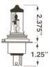 H4 High Wattage Halogen Bulbs  (PAIR)