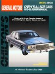 Chevrolet Caprice, Kingswood, Townsman - Chilton Repair Manual
