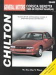 Chevrolet Corsica, Beretta - Chilton Repair Manual