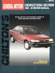 Chevrolet Nova, GEO Prism - Chilton Repair Manual