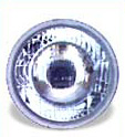 High Beam Curved Lens H4