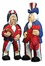 Collectible Patriotic Uncle Sam  Figurines