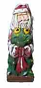 Collectible Santa Claus with Frog - Sold