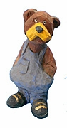 Country Bear Woodcarving #17116