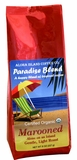 Aloha Marooned, Light Roast Organic Coffee (case: 8 bags)