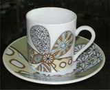 Espresso Demitasse Set of 6 Cups/Saucers