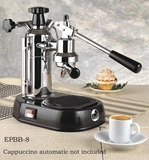 La Pavoni `Europiccola` Chrome/Black, EPBB-8