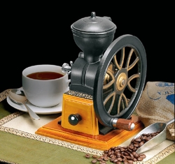 Old Fashioned Crank Wheel Cofee Grinder