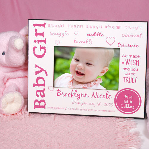 Picture Frame Personalized with Baby\'s Name