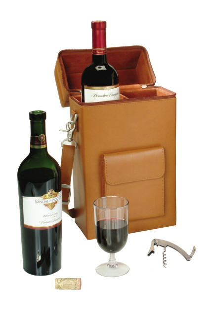 Custom Engraved Wine Carrier Personalized Wine Bag Closing Gifts Customizable Wine Caddy Personalized Leather and Flannel Wine Tote