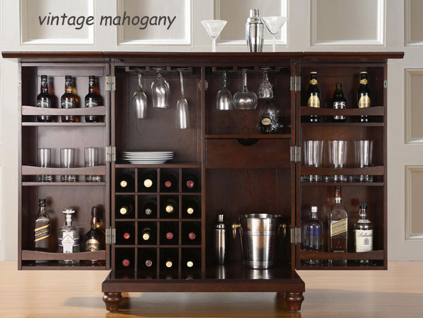 Great Crosley Bar Cabinet