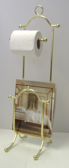 Magazine Rack Toilet Tissue Stand