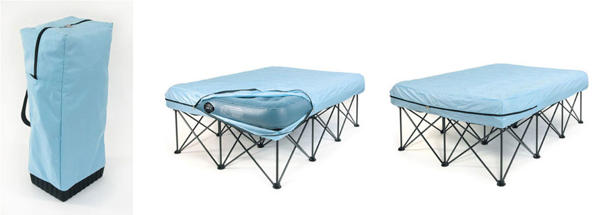 portable bed frame air mattress frame