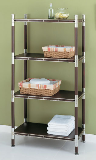 Baronial Bathroom Etagere