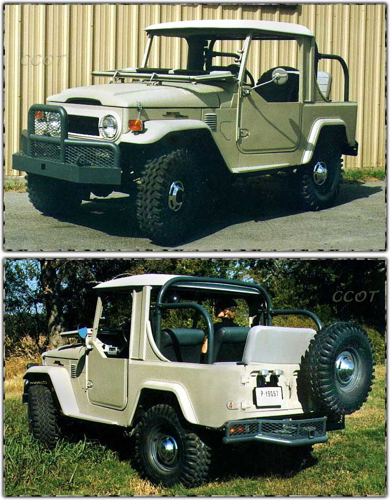 FJ40 Safari 1/2 Top